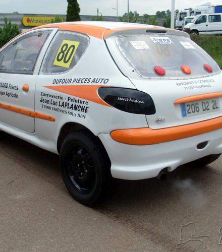 206 autocross TLC