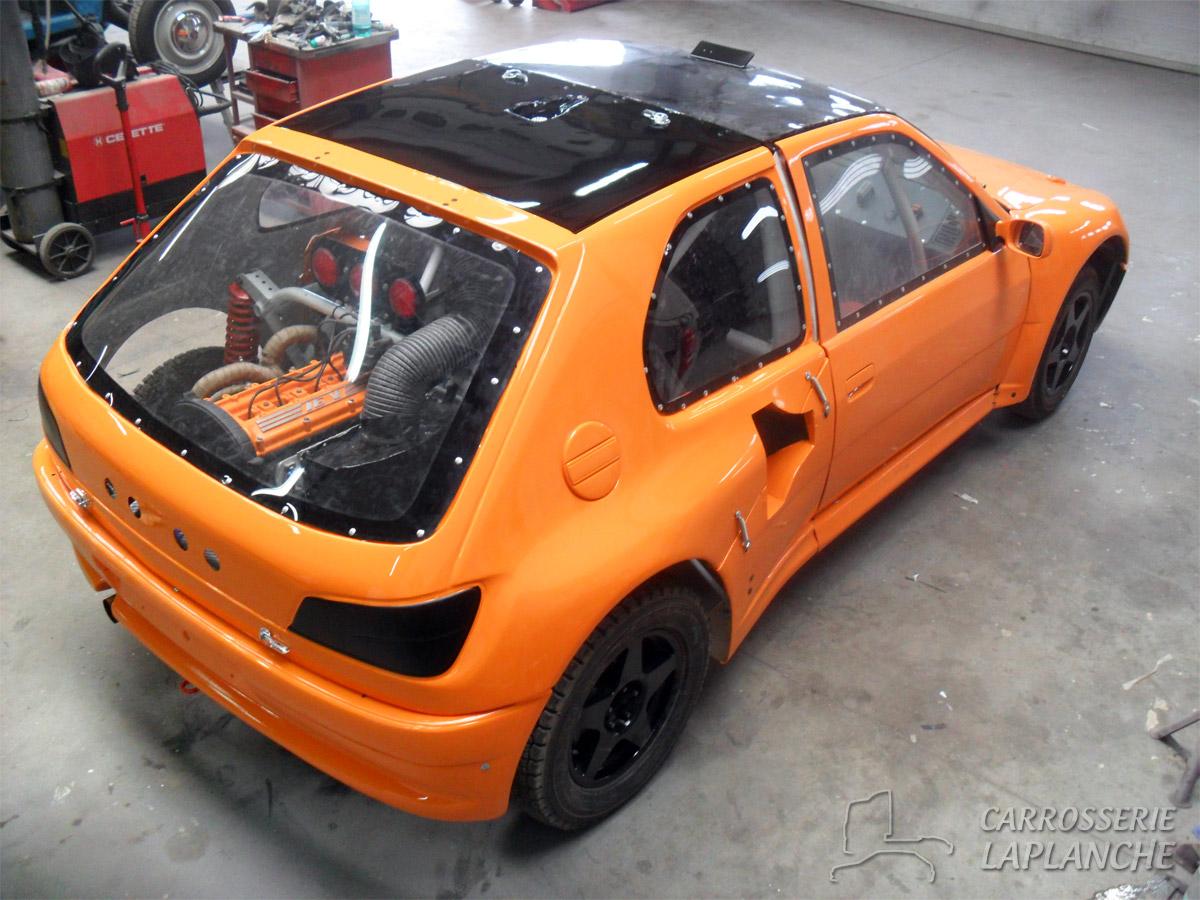 306 T3f Autocross Tlc Carrosserie Laplanche