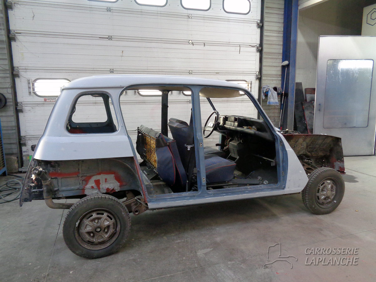Renault 4 gtl carrosserie laplanche for Interieur 4l