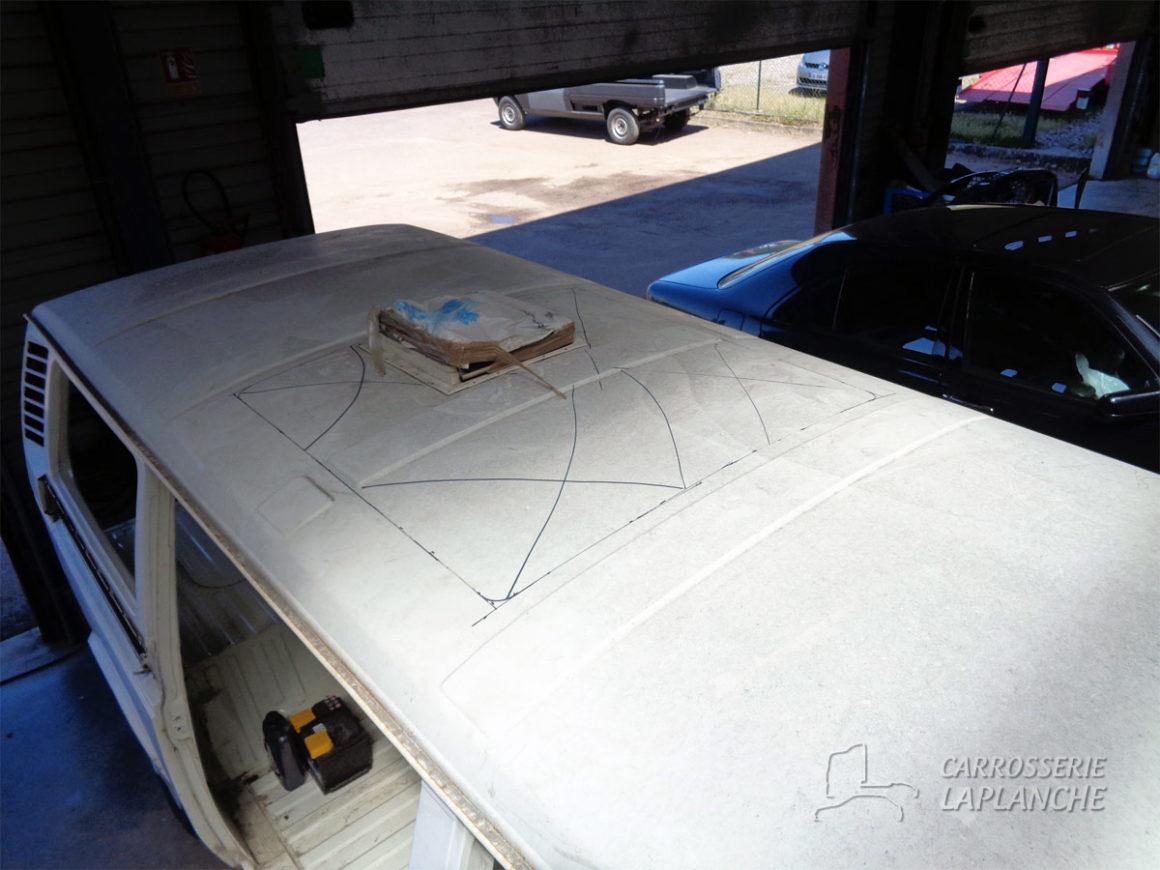 Combi T3 avec toit levant