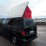 Pose d'un toit levant sur VW Transporter T5