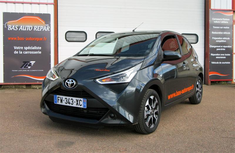 Véhicule de courtoisie Toyota Aygo